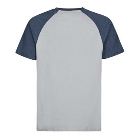 Ling Graphic Print T-Shirt Moonlight Blue Marl