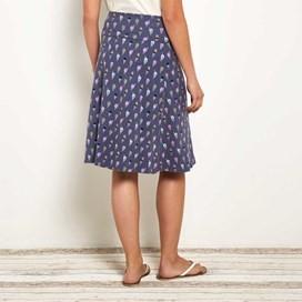 Malmo Printed Jersey Skirt Denim