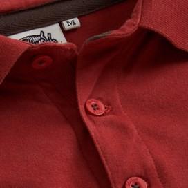 Civet Polo Shirt Brick Red