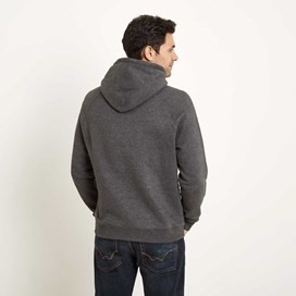 Rovern Graphic Appliqe Hoodie Washed Black