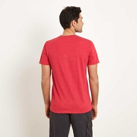 Bang Graphic Print T-Shirt Barberry Red Marl