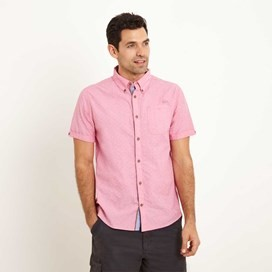 Balblair Short Sleeve Shirt Barberry Red