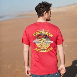 Cod & Chips Artist T-Shirt Moonlight Blue