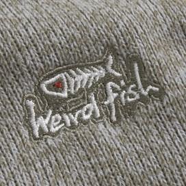Talas ¼ Zip Soft Knit Fleece Cobblestone