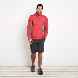 Fighter Waterproof Ripstop Jacket Barberry Red
