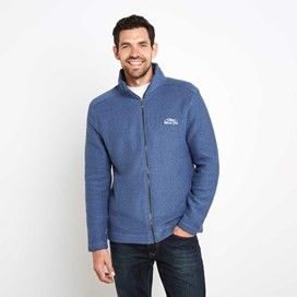Sickle Full Zip Macaroni Sweatshirt Ensign Blue