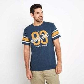 Jock Graphic T-Shirt Moonlight Blue