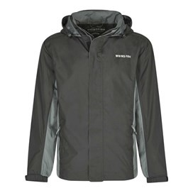 Fighter Waterproof Ripstop Jacket Washed Black