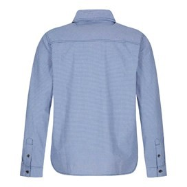 Lancelot Long Sleeve Check Shirt Blue