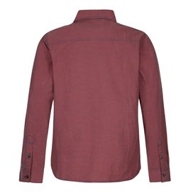 Lancelot Long Sleeve Check Shirt Barberry Red