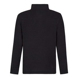 Talas 1/4 Zip Soft Knit Fleece Top Washed Black