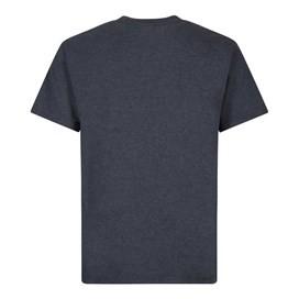 Gold Fish Finger Artist T-Shirt Navy Marl