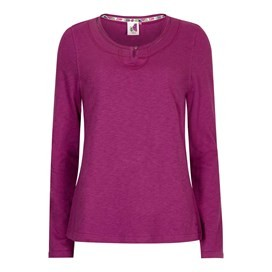 Aysun Long Sleeve Jersey Outfitter T-Shirt Sloeberry