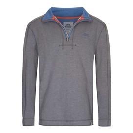 Geonre 1/4 Neck Zip Sweatshirt Blueberry