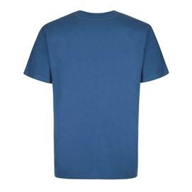 Public Anemone Artist T-Shirt Ensign Blue