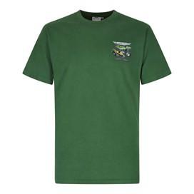 Motorpike & Sidecarp Artist T-Shirt Olive