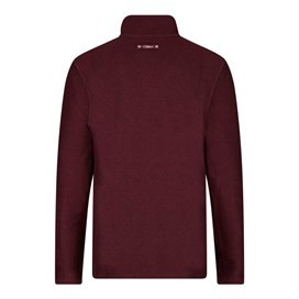 Cruiser 1/4 Zip Classic Macaroni Sweatshirt Dark Wine