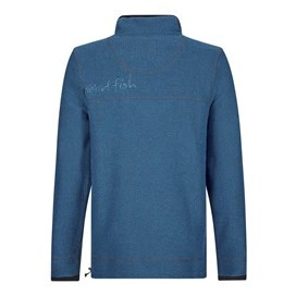 Parkway 1/4 Zip Technical Macaroni Sweatshirt Ensign Blue