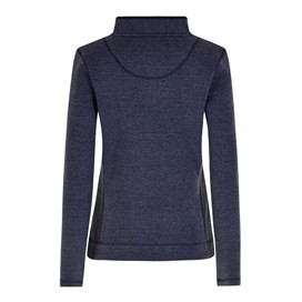 Margot 1/4 Zip Soft Knit Top Dark Navy
