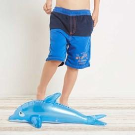 Seeker Panelled Boy's Boardshort Royal Blue