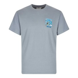 Top Gudgeon Artist T-Shirt Grey Blue