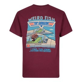 Top Gudgeon Artist T-Shirt Dark Wine