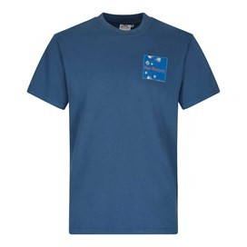 Fish Fighters Artist T-Shirt Ensign Blue