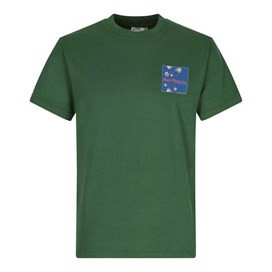 Fish Fighters Artist T-Shirt Olive