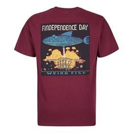 Findependence Artist T-Shirt Dark Wine