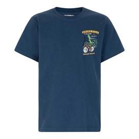 Bradley Squiddins Artist T-Shirt Ensign Blue
