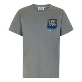 Ghost Buzzards Artist T-Shirt Grey Blue
