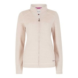 Iris Full Zip Soft Knit Jacket Ivory