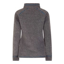Bjarne 1/4 Zip Borg Polar Fur Top Twilight