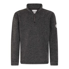 Bjorn 1/4 Zip Borg Fleece Top Black