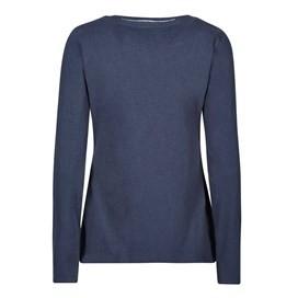 Aysun Long Sleeve Jersey Outfitter T-Shirt Dark Navy