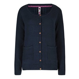 Ammi Cable Knit Outfitter Cardigan Dark Navy