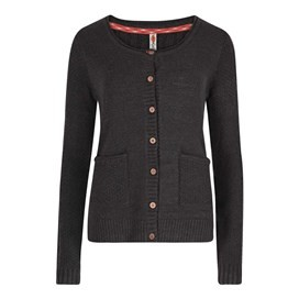 Ammi Cable Knit Outfitter Cardigan Coal