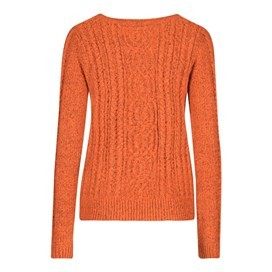 Ammi Cable Knit Outfitter Cardigan Clementine