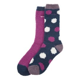 Park Fluffy Sock 2-Pack Sloeberry