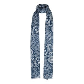 Alverton All Over Print Scarf Dark Navy
