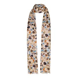 Alverton All Over Print Scarf Porridge