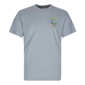 Bradley Squiddins Artist T-Shirt Grey Blue