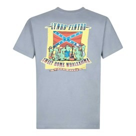 Lynrd Finyrd Artist T-Shirt Grey Blue