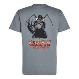 Cray Guevara Artist T-Shirt Grey Blue