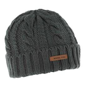 Denver Cable Knit Beanie Blueberry