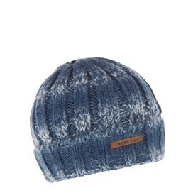 Kentucky Twisted Rib Knit Beanie Ensign Blue