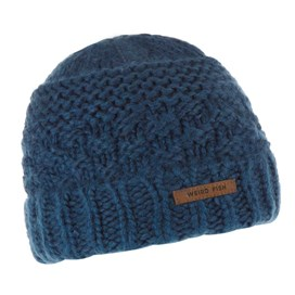 Rusutsu Cable Knit Beanie Ensign Blue