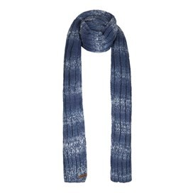 Frankfort Twisted Rib Knit Scarf Ensign Blue