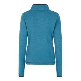 Jessie 1/4 Zip Soft Knit Fleece Top Blue Jay