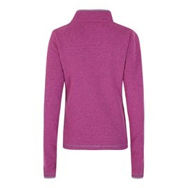 Jessie 1/4 Zip Soft Knit Fleece Top Sloeberry